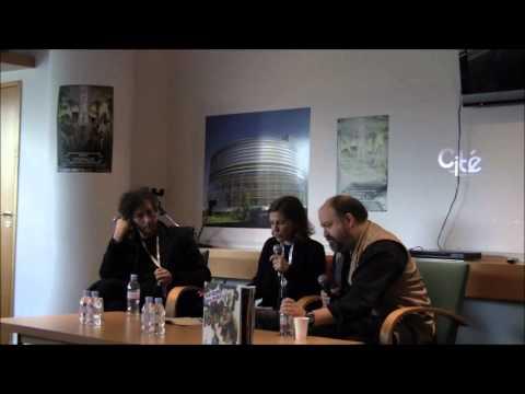 Conférence de presse Neil Gaiman / Dave McKean 1/3