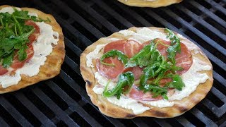 How to Make Grilled Pizza   Sunset