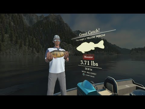 Rapala Fishing Pro Series Gameplay : My First Monster Fish