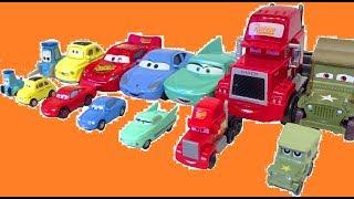 Тачки Игрушки Сюрприз Мультики про Машинки Много Машинок Cars 3 Disney Lightning McQueen