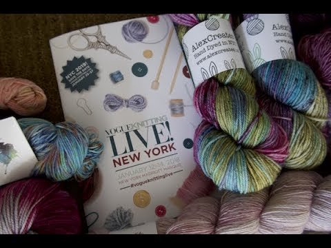 Vogue Knitting Live NYC 2018
