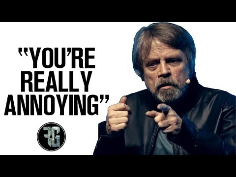 Mark Hamill Hates STAR WARS CELEBRATION