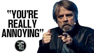 Mark Hamill HATES Star Wars Celebration!