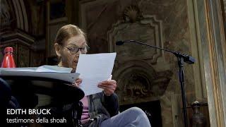 Edith bruck. una toccante testimonianza: dopo l'orrore della shoah, un cuore libero dall'odio
