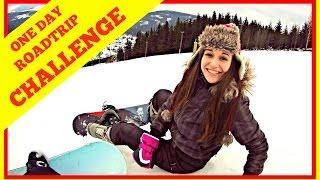 Házíme hubu na snowboardu  :)