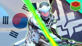 PLAYING ON KOREAN SERVERS | Overwatch