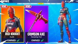 The RED KNIGHT RETURNS in Fortnite: Battle Royale... (CONFIRMED)