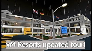 Roblox Bloxburg | xM Resorts Updated tour!