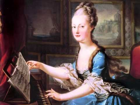 Johann Krieger - Minuet In A Minor - Baroque And Classical Piano Music