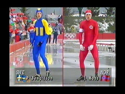 Winter Olympic Games Albertville 1992 - 5 km Koss - Bengtsson
