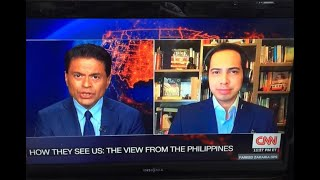 On Trump, China and Duterte: Fareed Zakaria CNN interview with Richard Heydarian