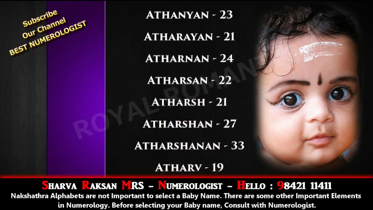 BOY BABY NAME STARTING WITH A 10- 9842111411 - HINDU INDIAN TAMIL SANSKRIT  MODERN LORD GOD NAME
