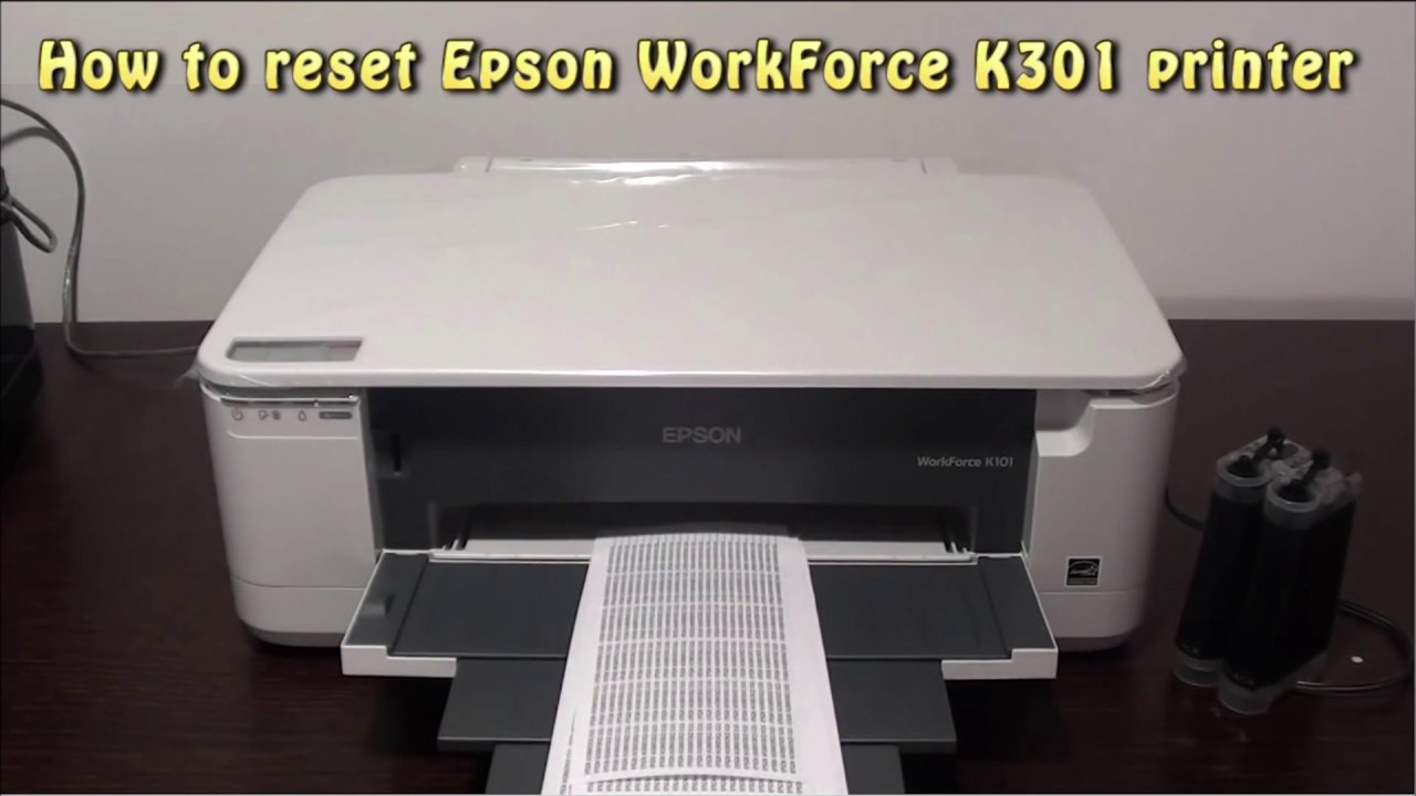 DRIVERS FOR EPSON K301