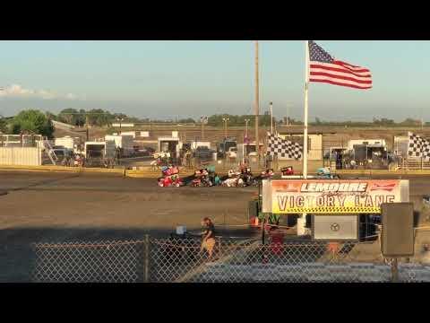 Lemoore Raceway 4/27/29 Jr Sprint Heat Cash