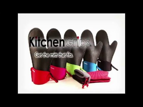 Kitchen Grips Extra Long Oven Mitt Maxiaids
