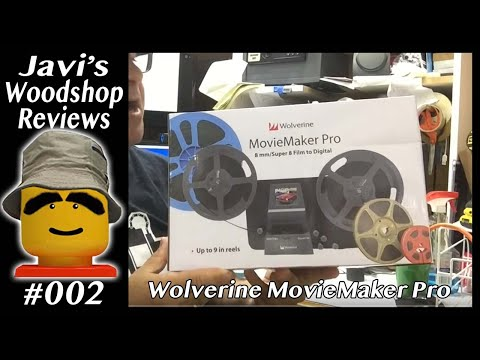 Wolverine Movie Maker Pro - 8mm Film To Digital - Unboxing And Review