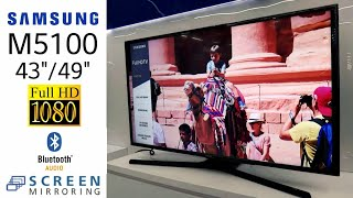 REVIEW SAMSUNG LED M5100 (43M5100/49M5100) DIGITAL TV indonesia HD
