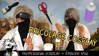 Professeur Cosplay 11 : TUTO objet en mousse