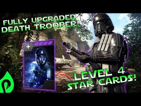 Star Wars Battlefront 2: Fully Upgraded Death Trooper Gameplay/Killstreak!!!