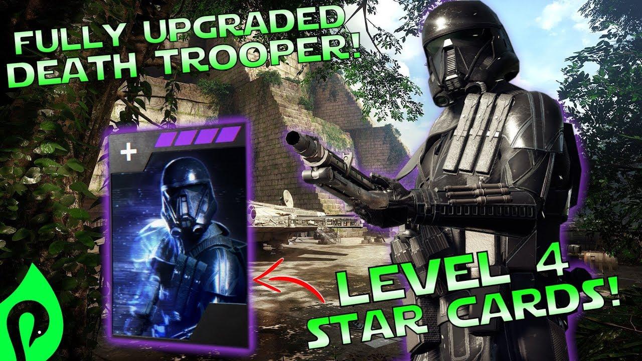 Star Wars Battlefront 2: Fully Upgraded Death Trooper