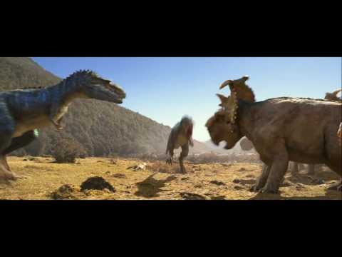 Walking With Dinosaurs Clip (Gorgosaurus Attacks)