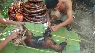Quá Thèm Thịt Chó Lão Nông Làm Thịt Chó Ăn/ Lòng Chó Ăn Thơm Ngon/Delicious dog meat in Vietnam