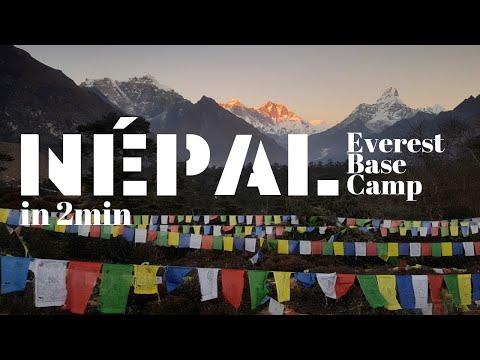 NEPAL - TREK EVEREST en 2 MINUTES