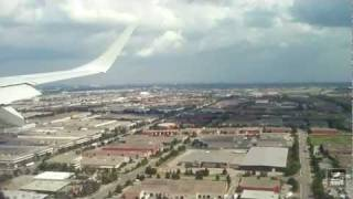 Landing at Toronto Pearson International Airport