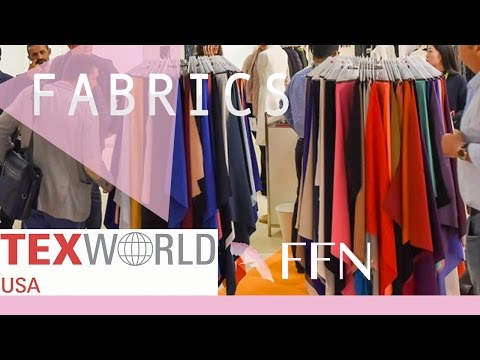 Fashion People Go to This Event - TEXWORLD USA | FABRICS, TRENDS 2017