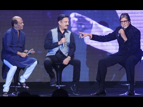 Rajinikanth, Amitabh Bachchan, Kamal Haasan Pay Tribute to I