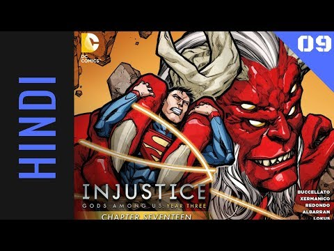 Injustice Gods Among Us Year 3   Episode 09   DC Comics in HINDI