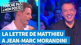 La lettre de Matthieu Delormeau à Jean-Marc Morandini