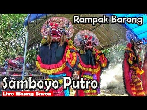 Rampokan Singo Solah Rancak Jaranan Samboyo Putro Live Waung Baron