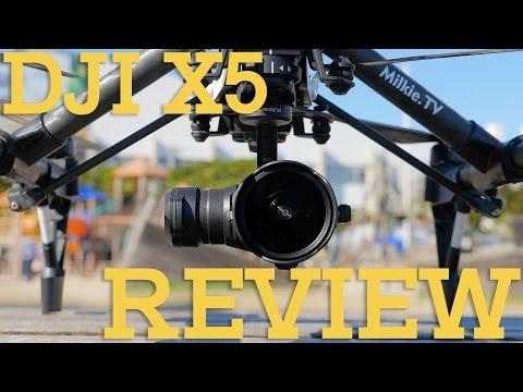 REVIEW DJI X5 COM LENTES 15mm, 12mm e 8mm