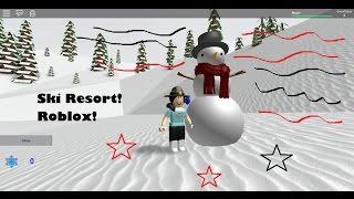 ROBLOX Ski Resort / Snowman / Iva383!