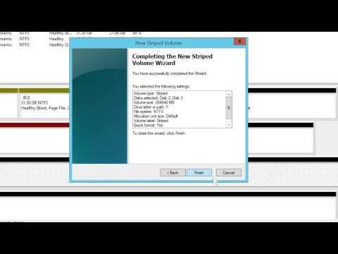 Windows Disk Management Demonstration