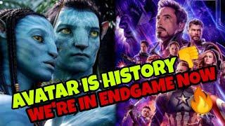 Avengers Endgame Re RELEASE -  AVATAR IN ENDGAME NOW