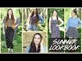 SUMMER LOOKBOOK 2014 // 5 Affordable Outfits