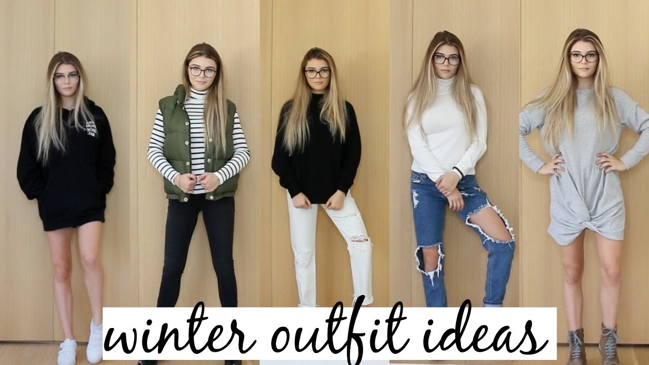 winter outfit ideas look book 2016 ft glasses youtube. Black Bedroom Furniture Sets. Home Design Ideas