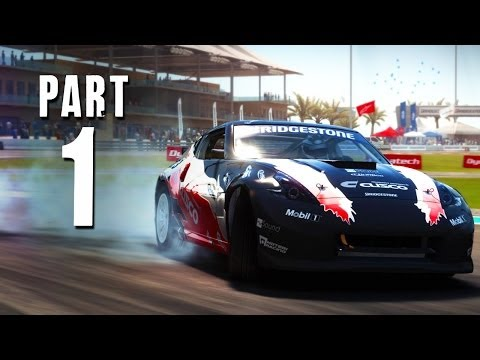 GRID Autosport Gameplay Walkthrough Part 1 - CAREER TIME