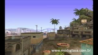 GTASA - Favela do Rio de Janeiro - Slum