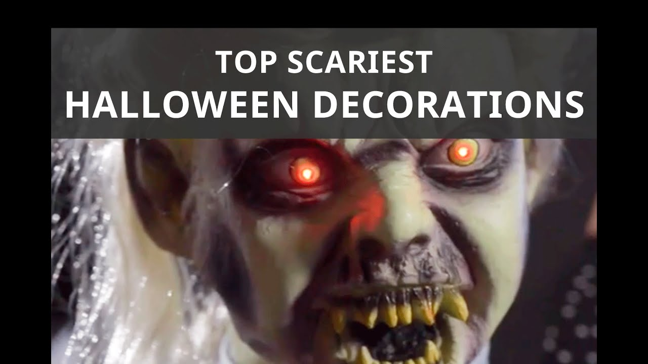 The Best Scary Halloween Decorations Shindigz Youtube