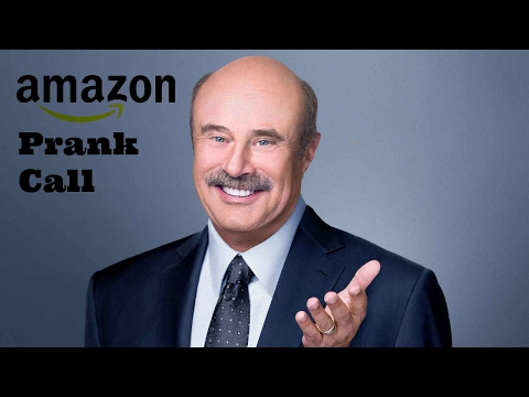 Trying to Diagnose Amazon Representatives | Dr. Phil Prank Call (HILARIOUS)