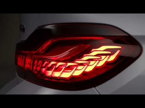 BMW M4 Concept Iconic Lights - OLED Technology