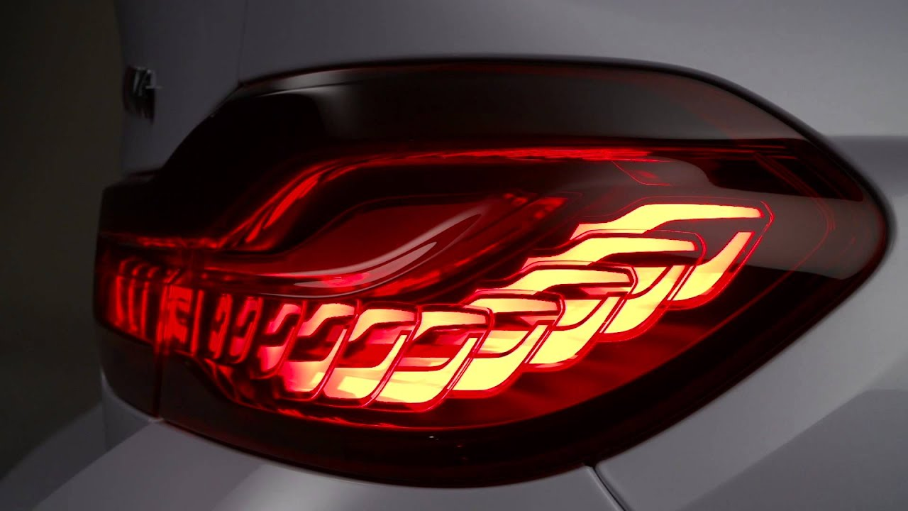 Bmw M4 Concept Iconic Lights Oled Technology Youtube