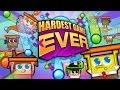 SpongeBob SquarePants Nickelodeon Hardest Game Ever Full Episodes in English Cartoon Games Movie