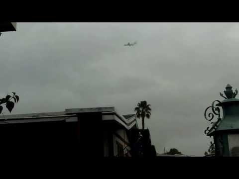 FORMER PRESIDENT OBAMA FAILS TO LAND IN PALM SPRING CA.