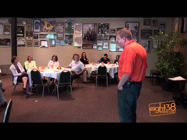 Video Thumbnail of Small Business Matters - Eight38 Sign Co.
