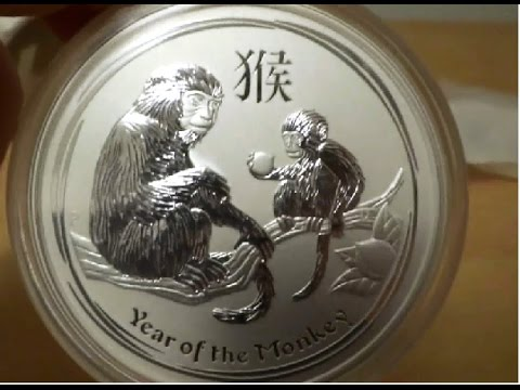 2016 5 Oz Year Of The Monkey