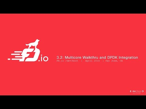 3.2: Multicore Walkthru and DPDK Integration